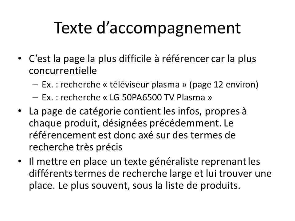Texte d'accompagnement