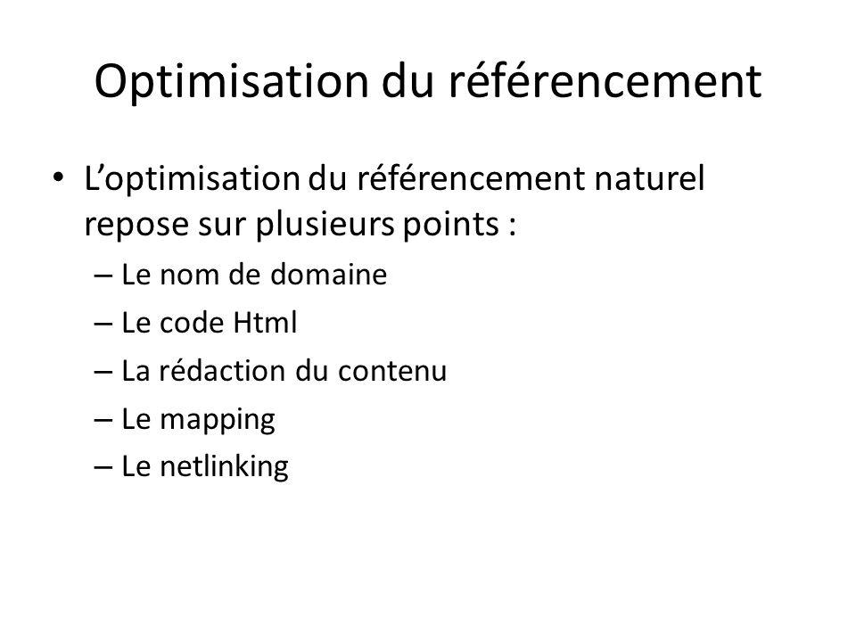 Optimisation du référencement