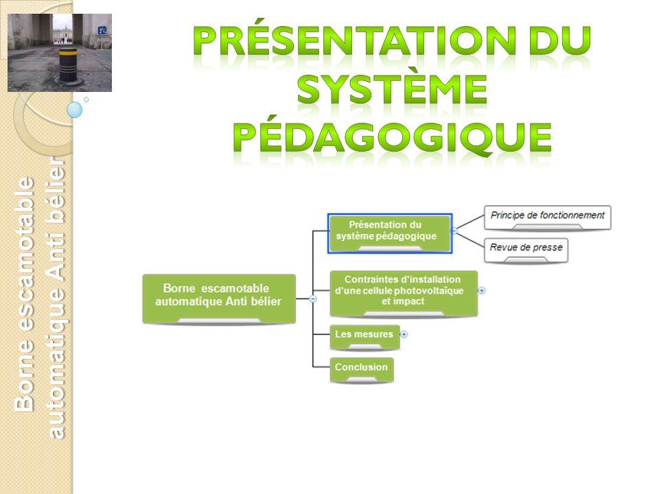 Présentation du système pédagogique