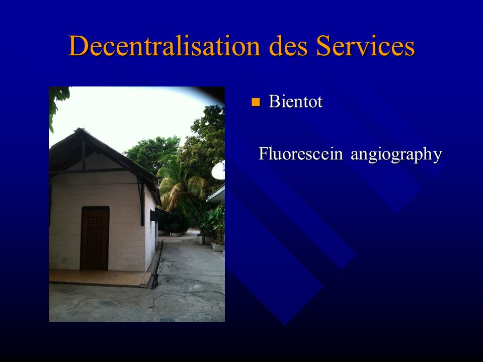 Decentralisation des Services