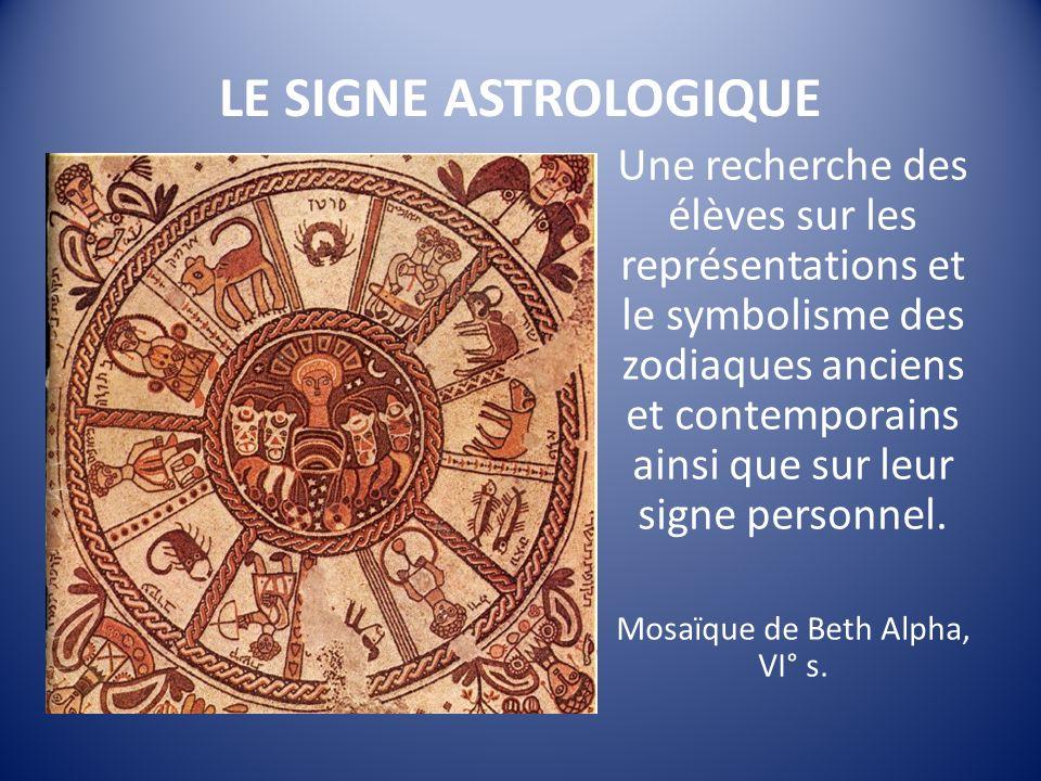 Mosaïque de Beth Alpha, VI° s.