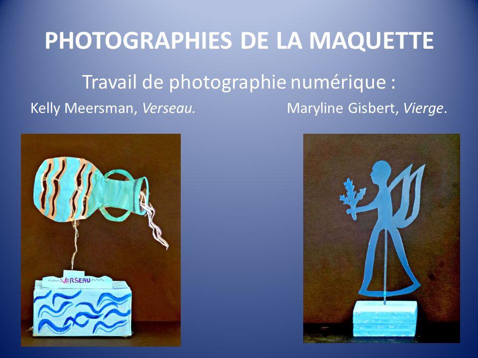 PHOTOGRAPHIES DE LA MAQUETTE