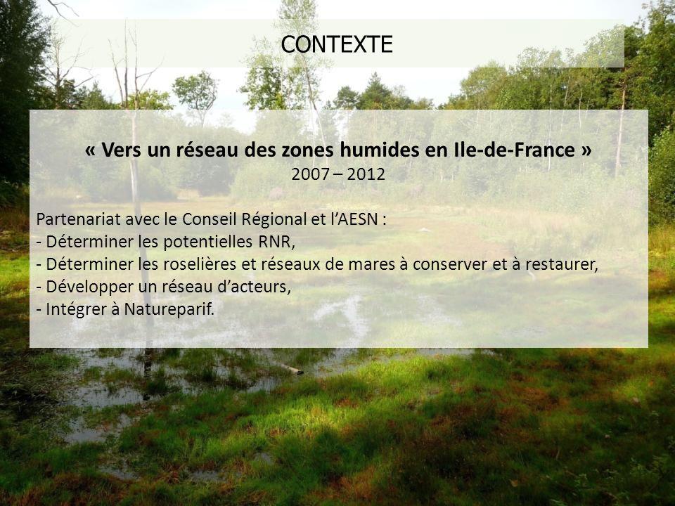 « Vers un réseau des zones humides en Ile-de-France »