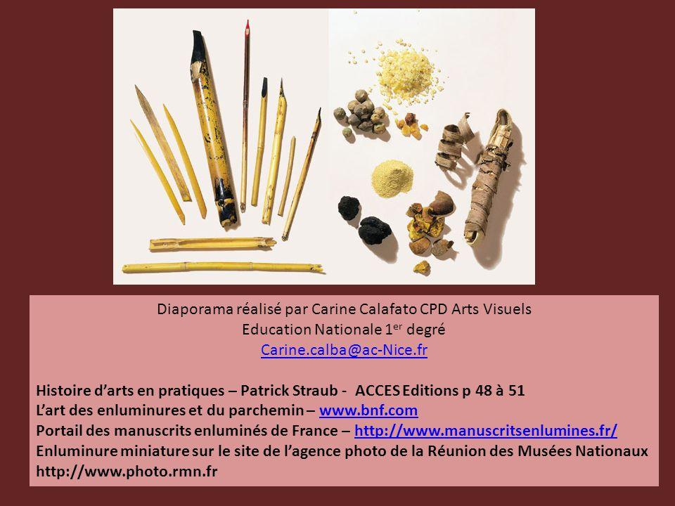 Diaporama réalisé par Carine Calafato CPD Arts Visuels