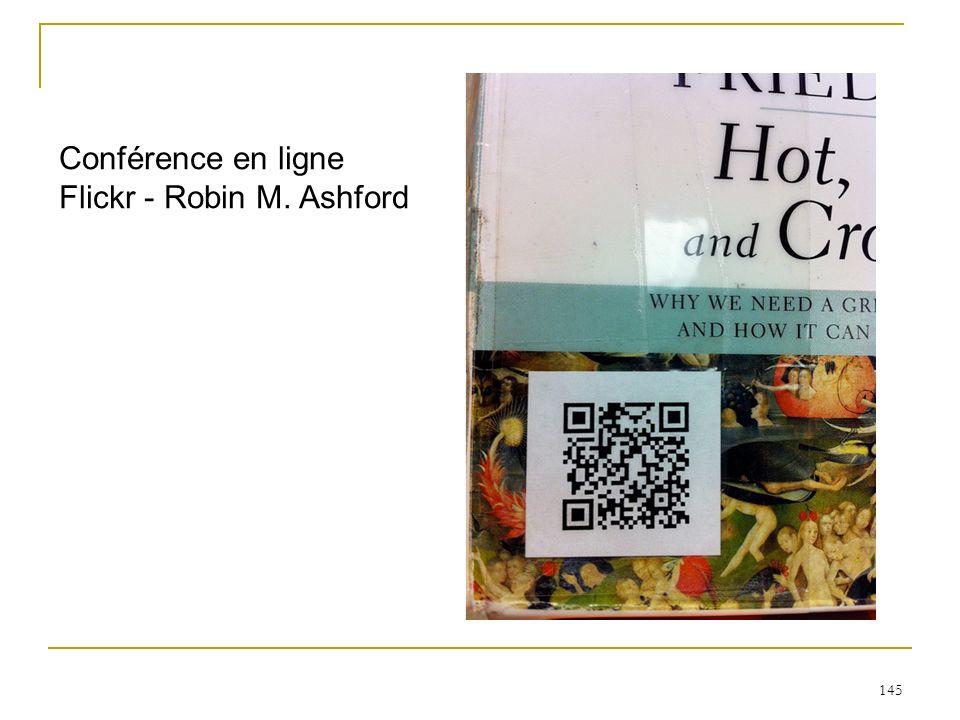Conférence en ligne Flickr - Robin M. Ashford