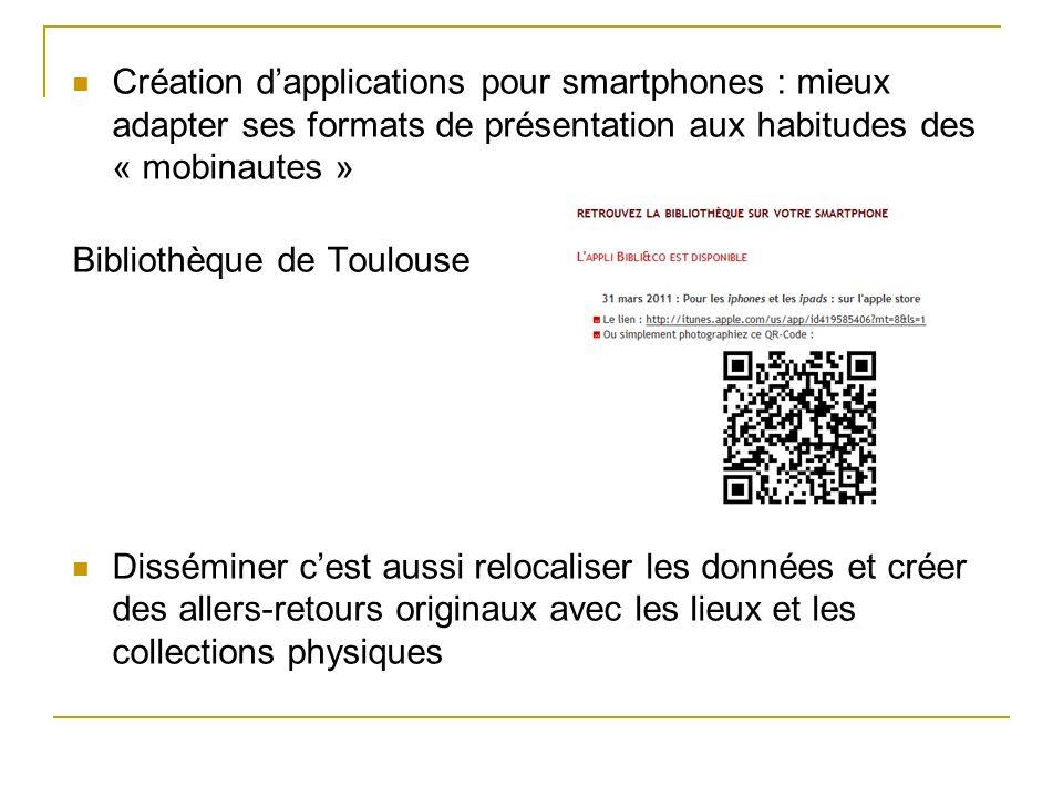 Création d'applications pour smartphones : mieux adapter ses formats de présentation aux habitudes des « mobinautes »