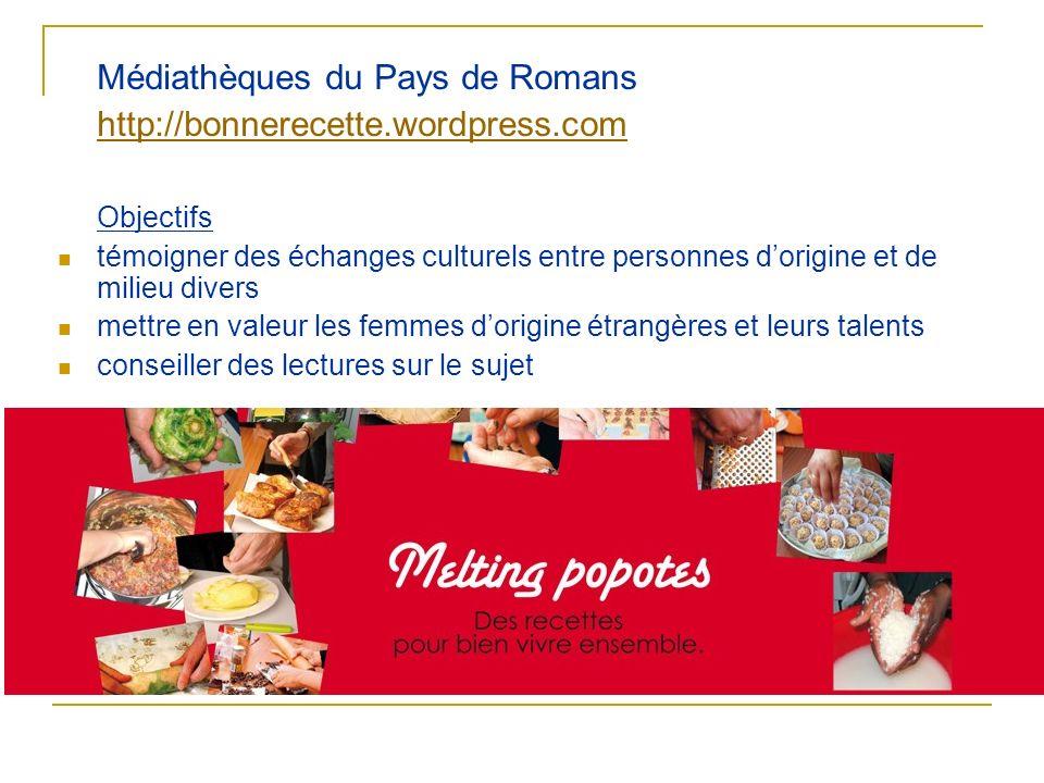 http://bonnerecette.wordpress.com Objectifs
