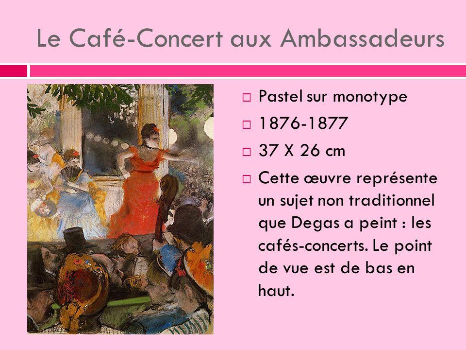 Le Café-Concert aux Ambassadeurs