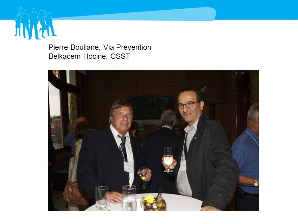 Pierre Bouliane, Via Prévention Belkacem Hocine, CSST