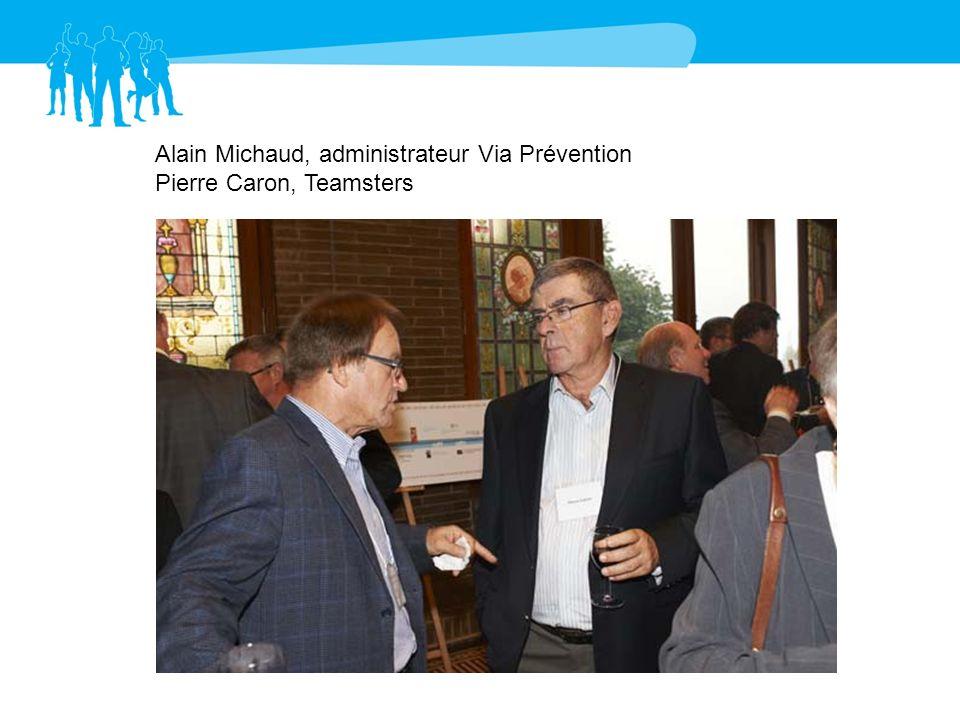 Alain Michaud, administrateur Via Prévention