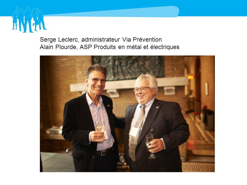 Serge Leclerc, administrateur Via Prévention