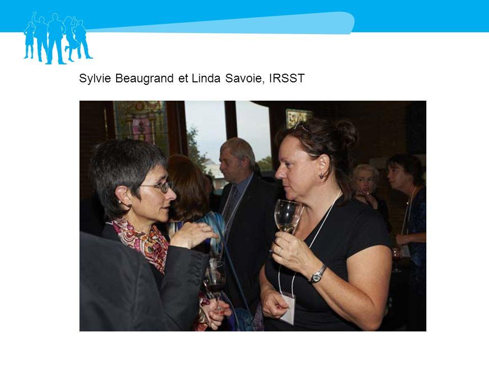 Sylvie Beaugrand et Linda Savoie, IRSST