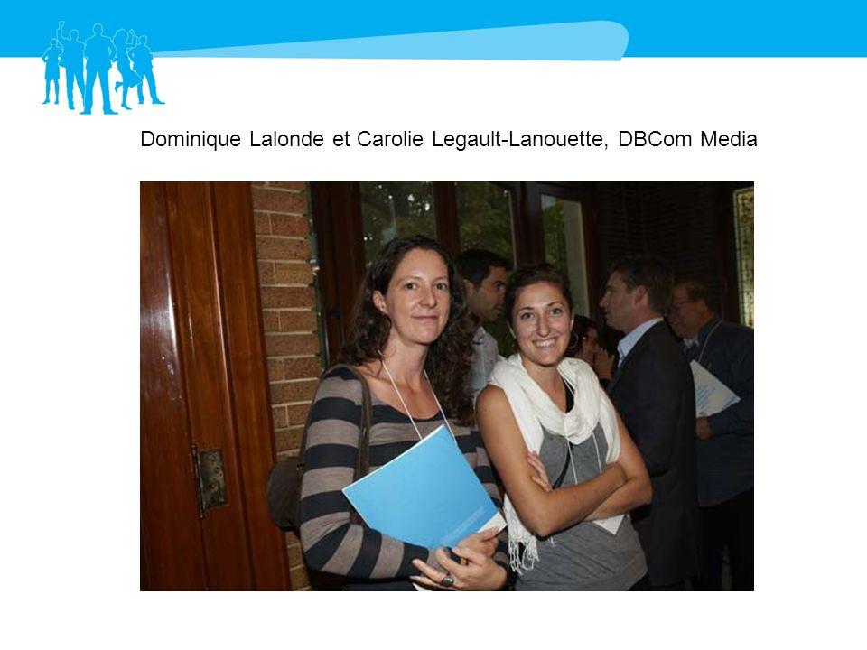 Dominique Lalonde et Carolie Legault-Lanouette, DBCom Media