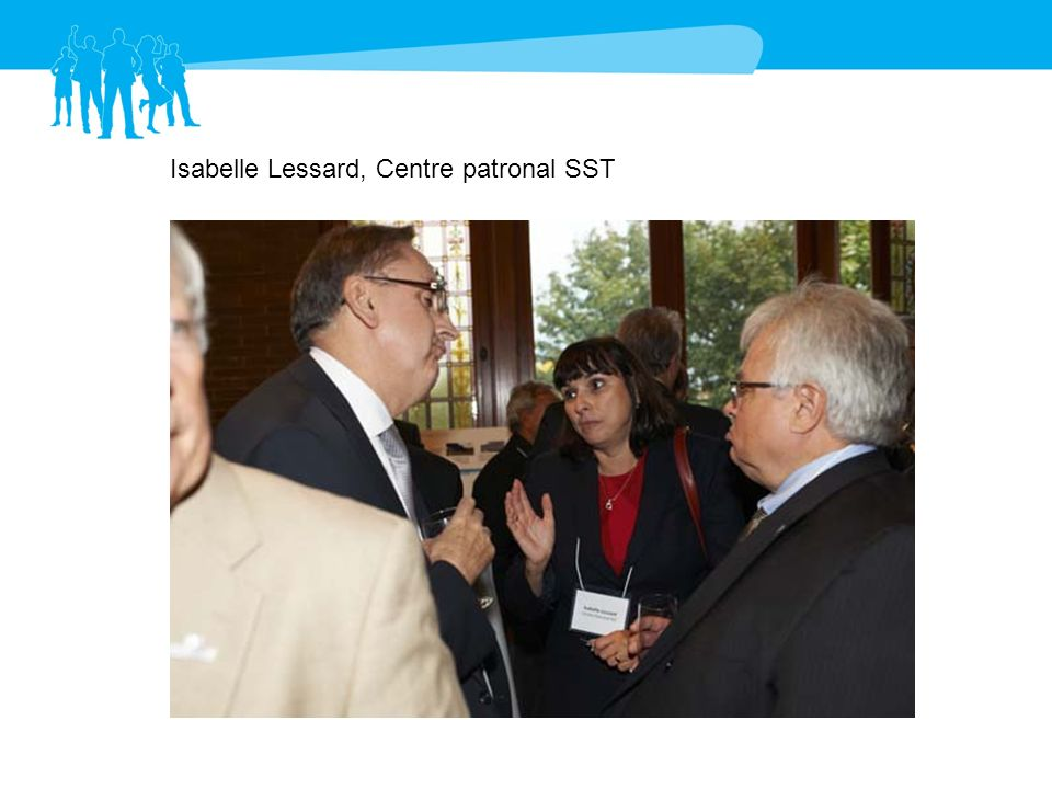 Isabelle Lessard, Centre patronal SST