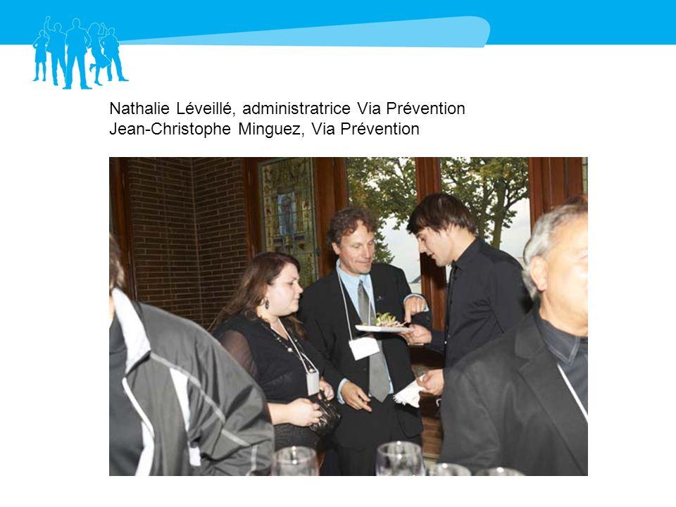 Nathalie Léveillé, administratrice Via Prévention