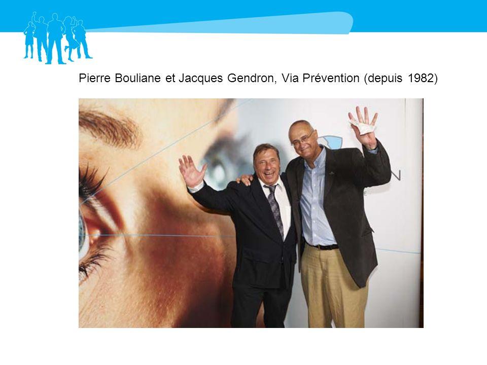 Pierre Bouliane et Jacques Gendron, Via Prévention (depuis 1982)
