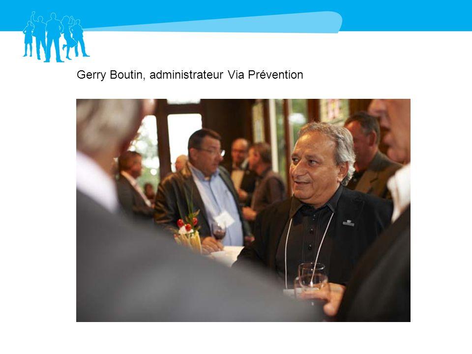 Gerry Boutin, administrateur Via Prévention