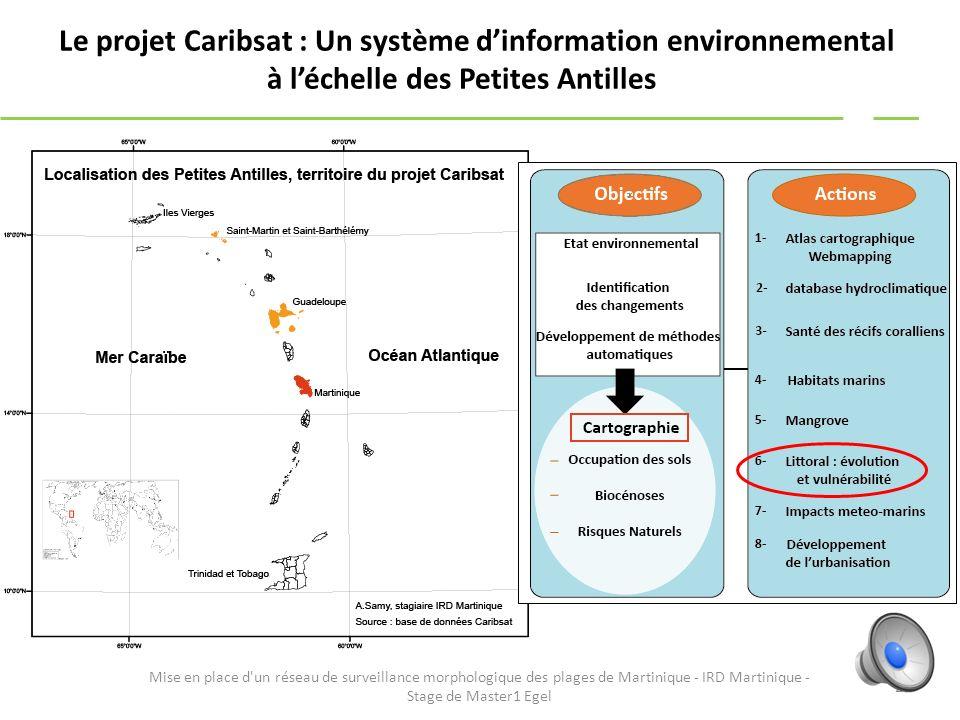 Le projet Caribsat : Un système d'information environnemental