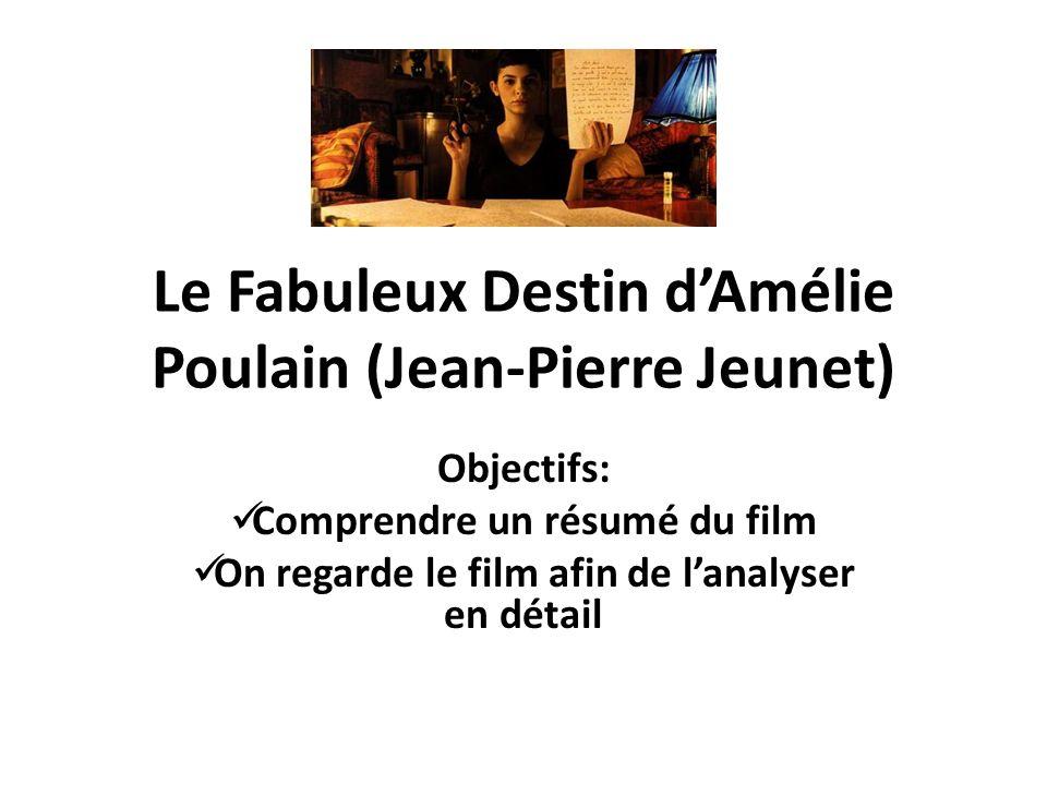 Le Fabuleux Destin d'Amélie Poulain (Jean-Pierre Jeunet)