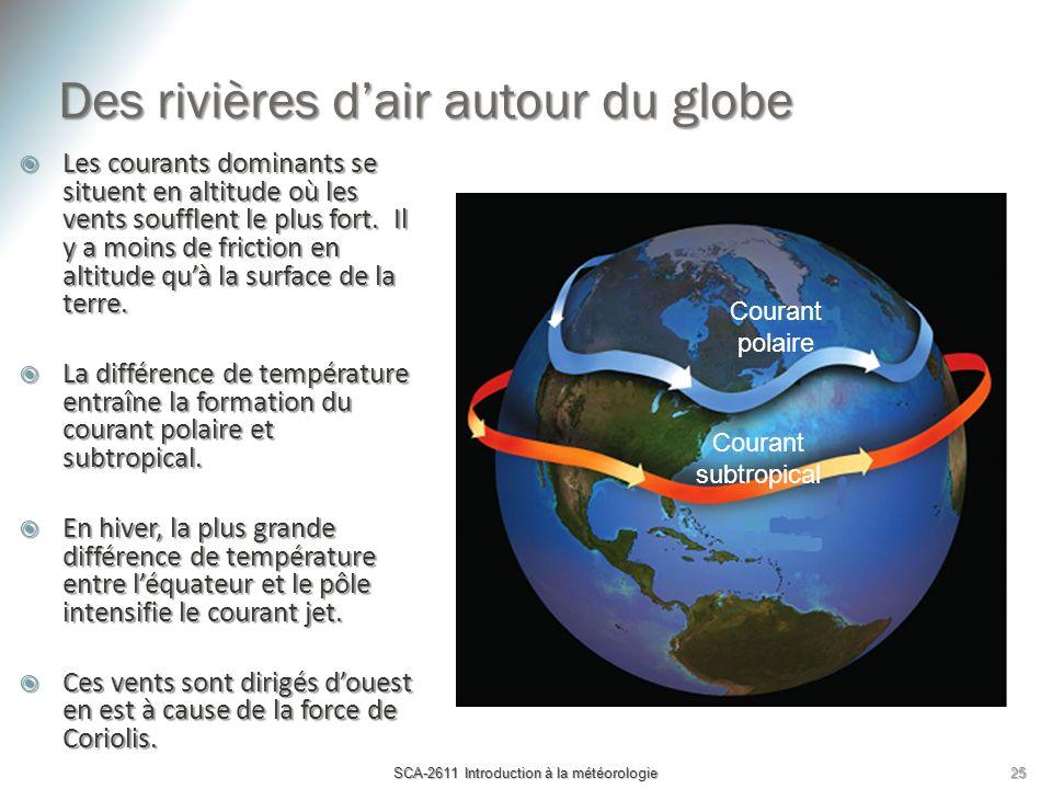 Des rivières d'air autour du globe