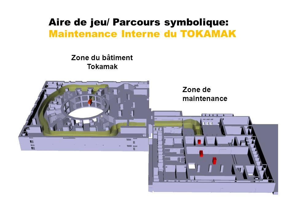 Zone du bâtiment Tokamak