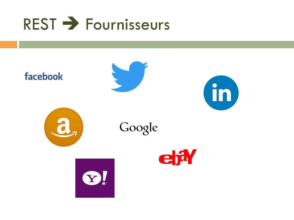 REST  Fournisseurs An opportunity for questions and discussions.