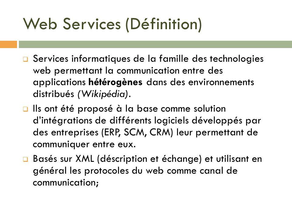 Web Services (Définition)