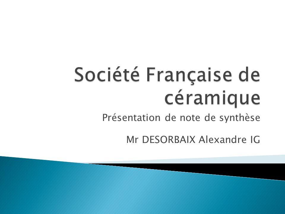 Société Française de céramique