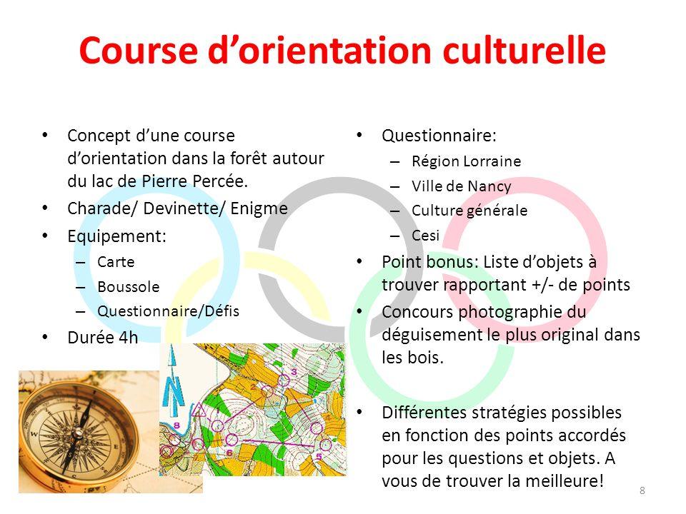Course d'orientation culturelle