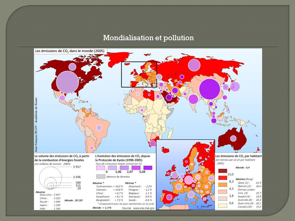 Mondialisation et pollution