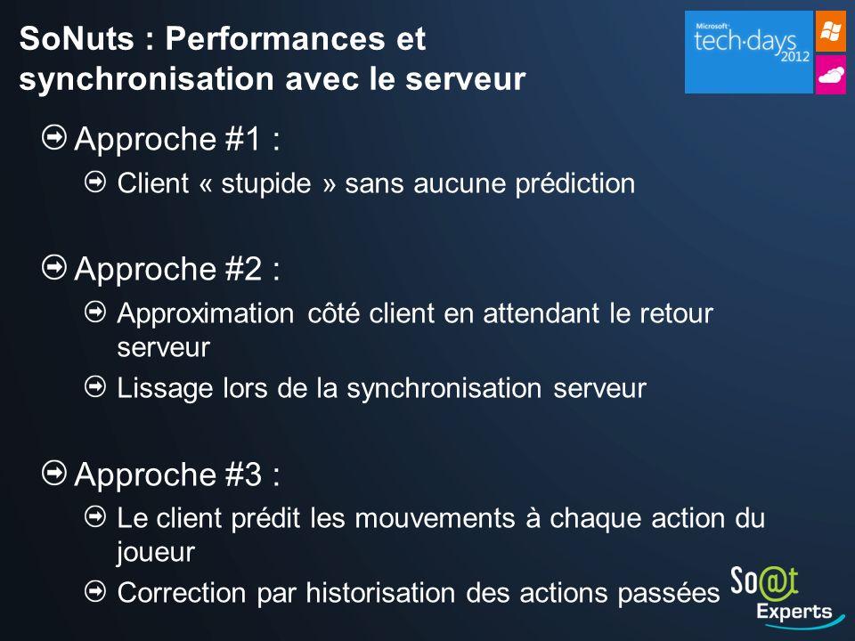 SoNuts : Performances et synchronisation avec le serveur