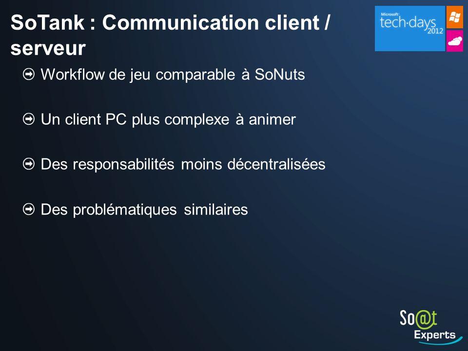 SoTank : Communication client / serveur