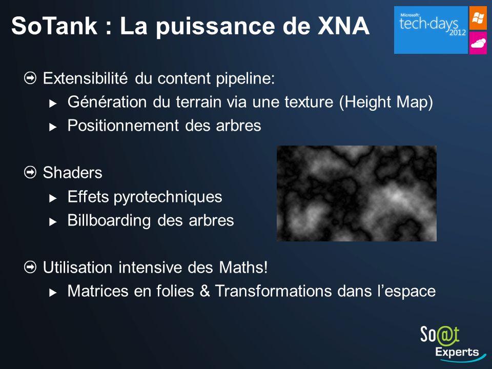 SoTank : La puissance de XNA