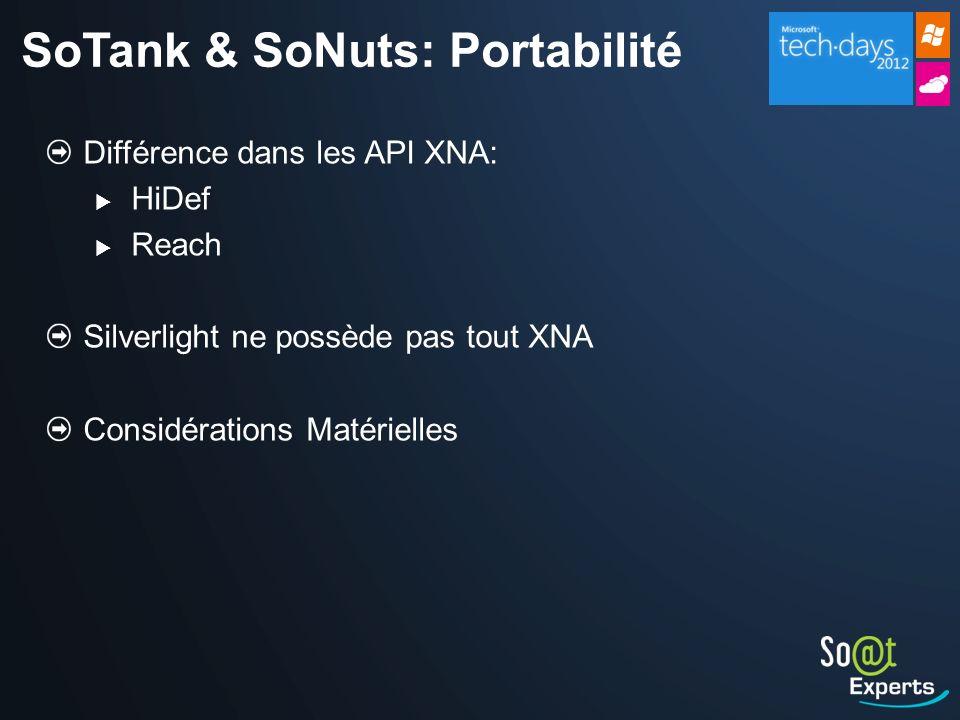 SoTank & SoNuts: Portabilité