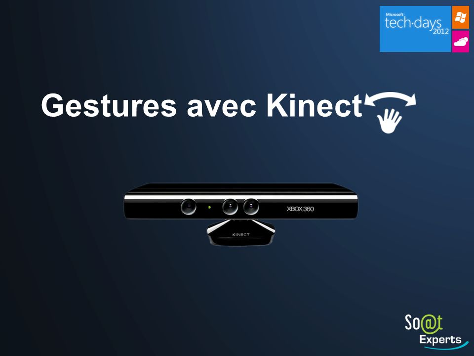 Gestures avec Kinect