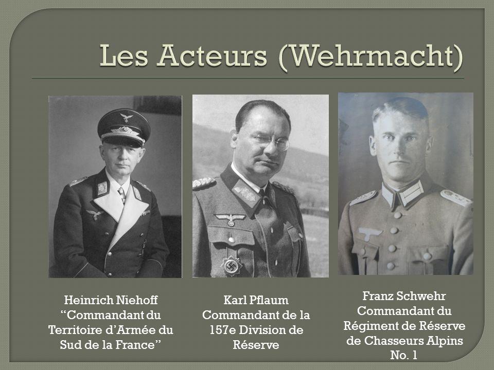 Les Acteurs (Wehrmacht)