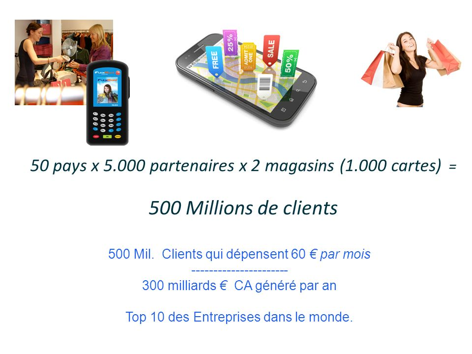 5 Jahre 500 Millions de clients