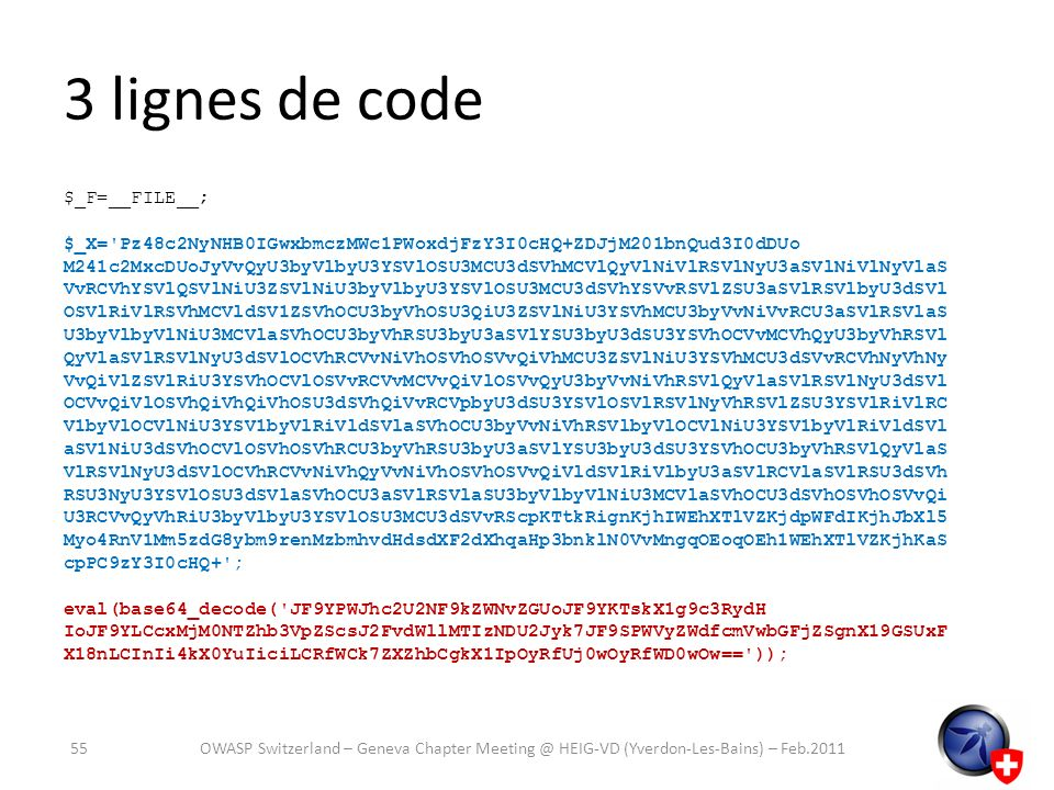 3 lignes de code $_F=__FILE__;