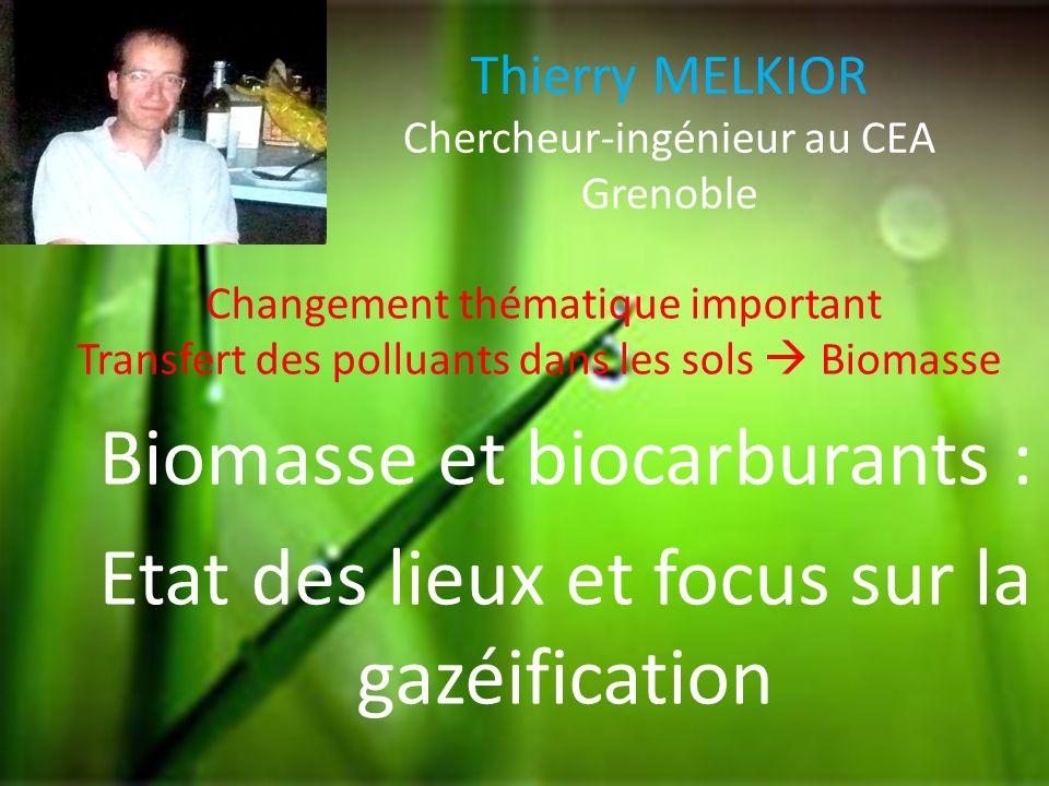 Thierry MELKIOR Chercheur-ingénieur au CEA Grenoble