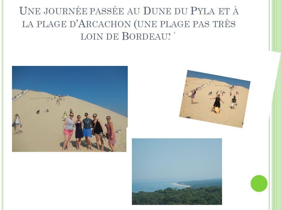 Une journée passée au Dune du Pyla et à la plage d'Arcachon (une plage pas très loin de Bordeaux)