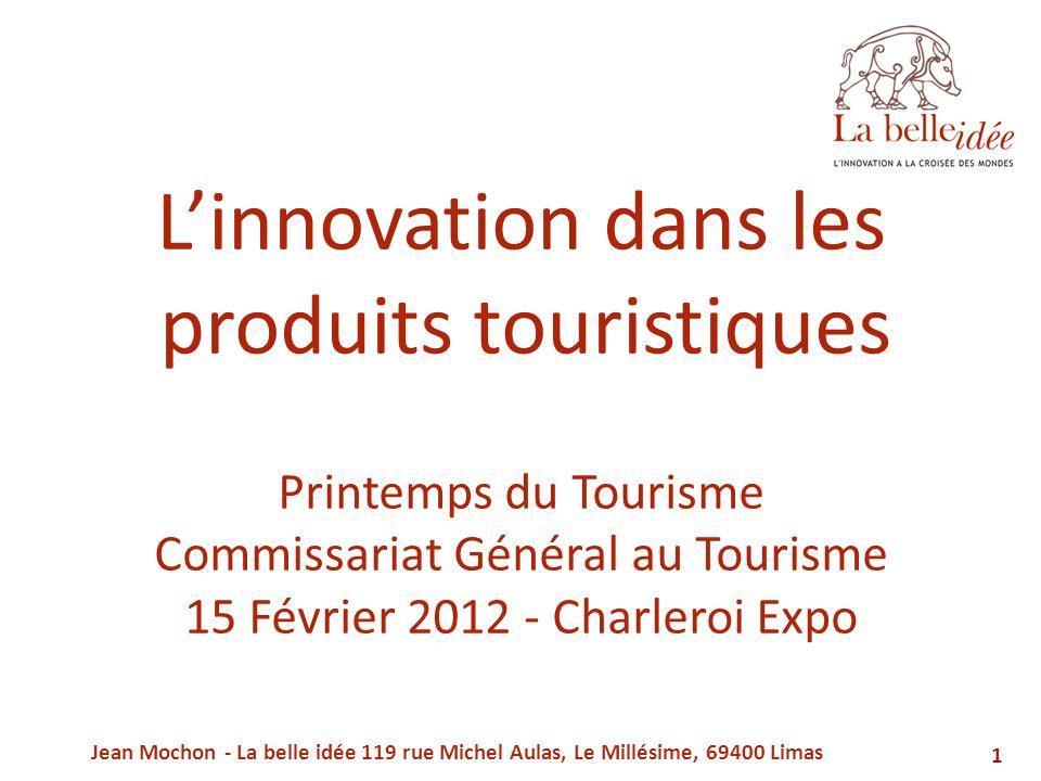 L'innovation dans les produits touristiques