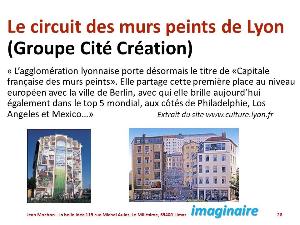 Le circuit des murs peints de Lyon (Groupe Cité Création)