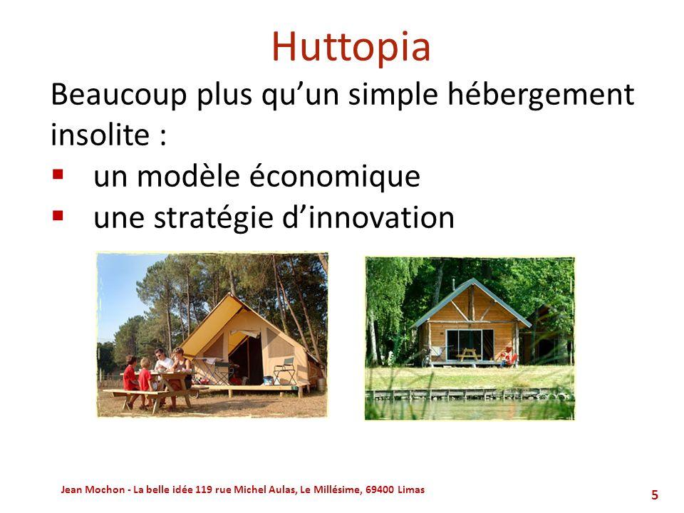 Huttopia Beaucoup plus qu'un simple hébergement insolite :