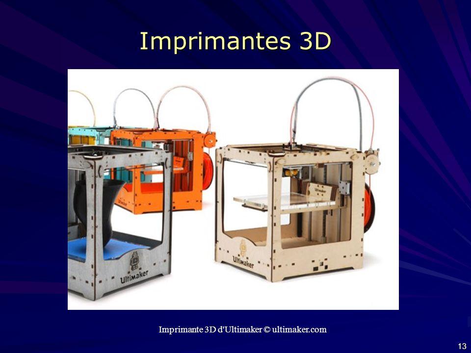 Imprimante 3D d Ultimaker © ultimaker.com