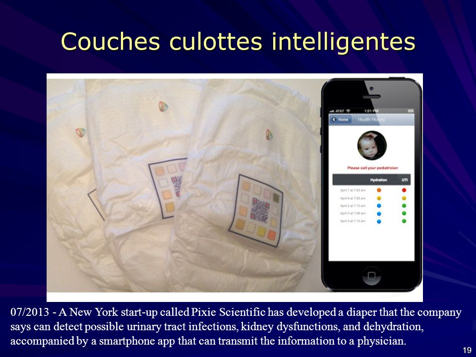 Couches culottes intelligentes