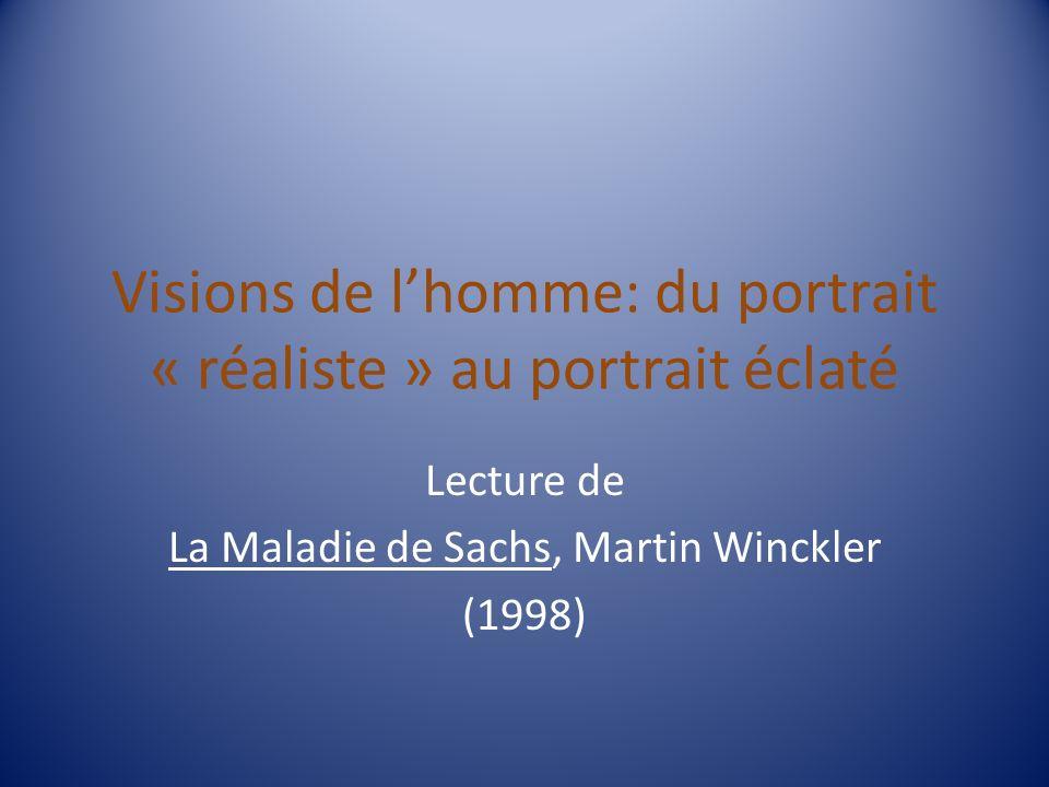 Visions de l'homme: du portrait « réaliste » au portrait éclaté