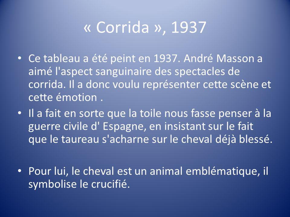« Corrida », 1937