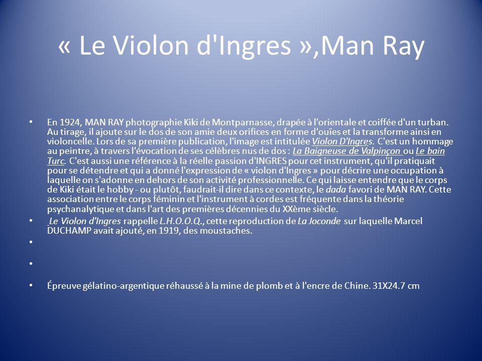 « Le Violon d Ingres »,Man Ray