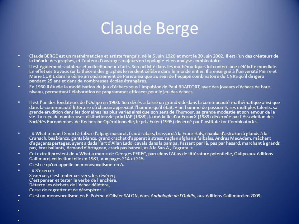 Claude Berge