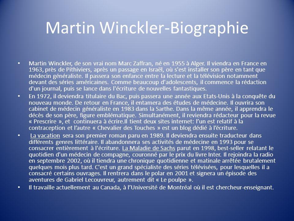 Martin Winckler-Biographie